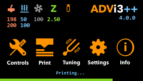 LCD Touch Screen Guide - User Manual - ADVi3++ Community