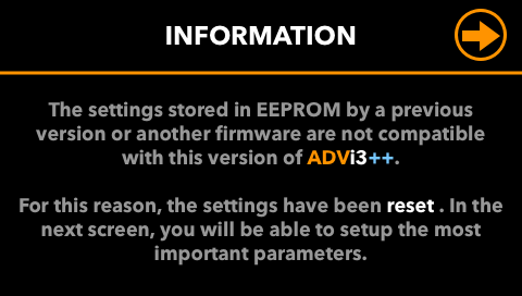 EEPROM-Mismatch