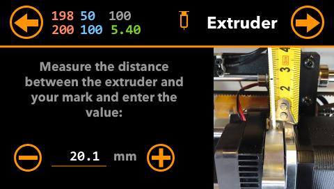 Extruder Measures