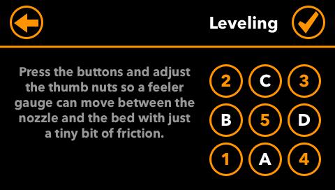 Manual Leveling