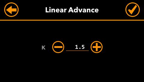 Linear-Advance-Settings